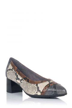 Zapato de Salón Tricolor