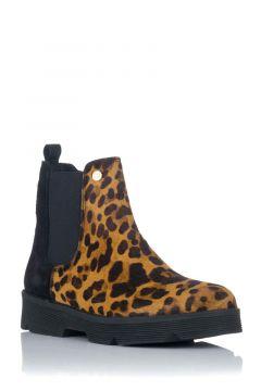Botín Chelsea Leopardo