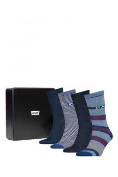 Pack 2 calcetines regular cut stripe