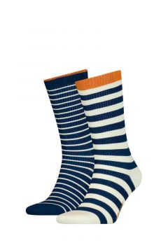 Pack 2 calcetines Regular Cut Breton Stripe