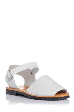 Sandalia menorquina en piel